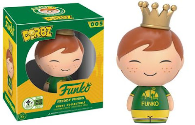 Emerald City Comicon 2017 Exclusive Seattle Freddy Funko Dorbz Vinyl Figure by Funko