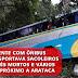 Acidente com ônibus que transportava sacoleiros deixa três mortos e vários feridos próximo a Arataca
