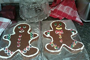 Giant Gingerbread Men