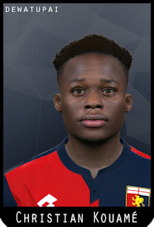 PES 2017 Faces Christian Kouamé by Dewatupai