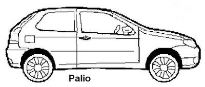 desenhos: carros
