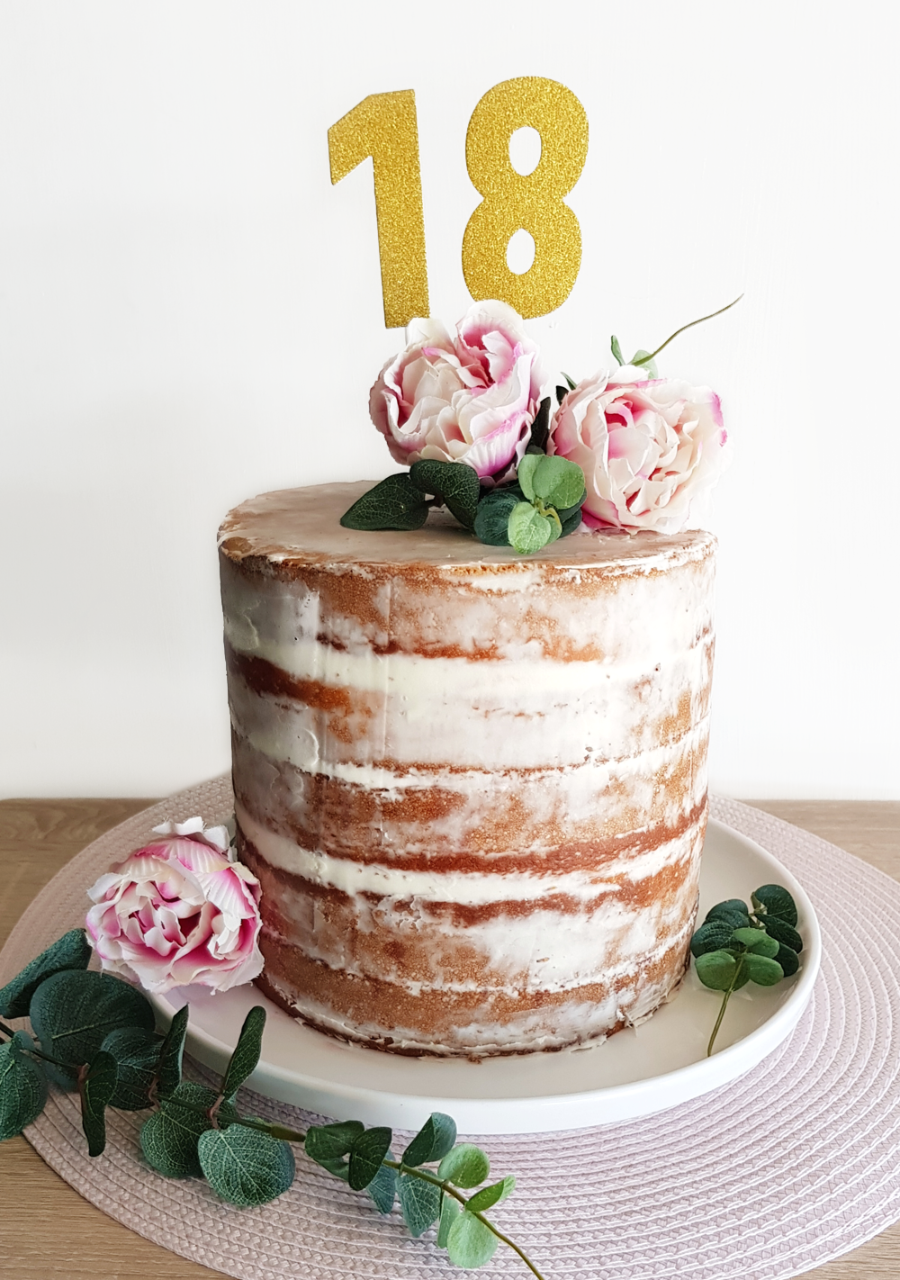 Outstanding 18Th Naked Birthday Cake On A Budget Now Thats Peachy Birthday Cards Printable Giouspongecafe Filternl