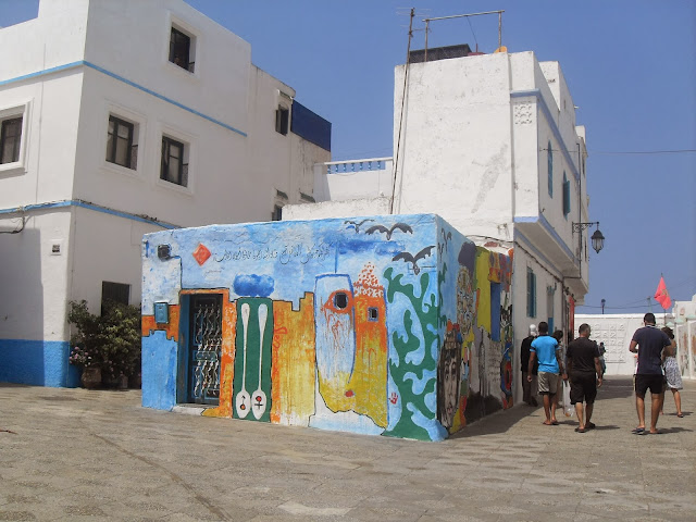 Tiendas de artesania en Asilah