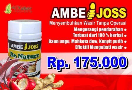 Ambejoss denature solusi pengobatan ambeien atau wasir dari de nature indonesia