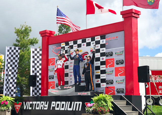 Canadian Tire Motorsport Park - Victoria Day Speedfest Lawson Aschenbach First Place Pirelli World Challenge #CTMPlife
