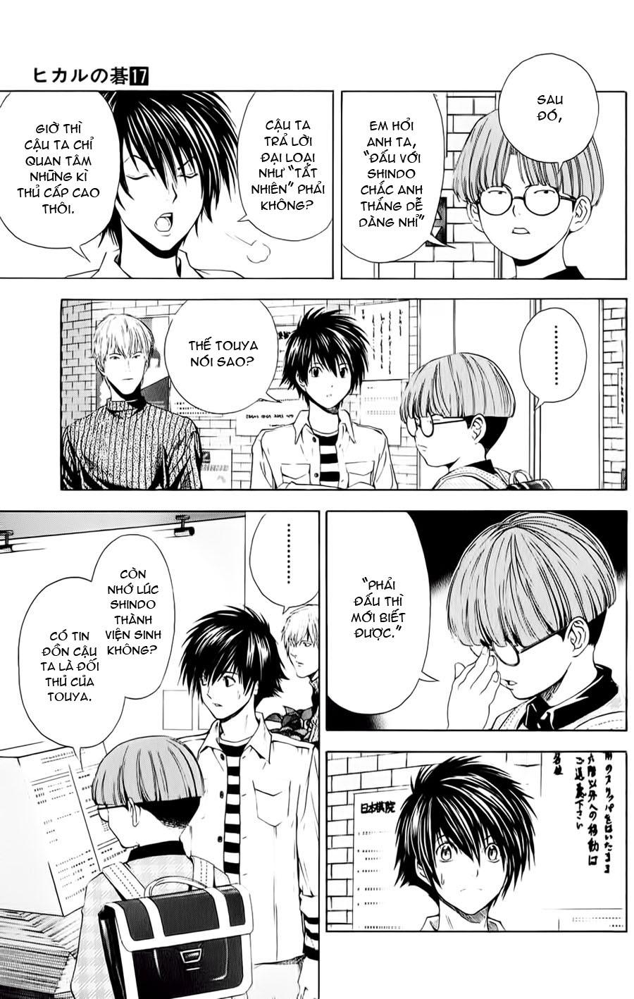 Hikaru No Go hikaru no go chap 145 trang 5