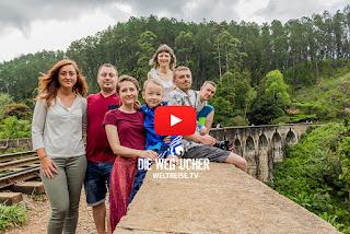 Nine Arch Bridge, Ella, Sri Lanka, Sehenswürdigkeiten, Weltreise