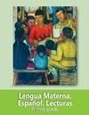 Libro de Texto Lengua Materna Español Lecturas Primer grado 2019-2020