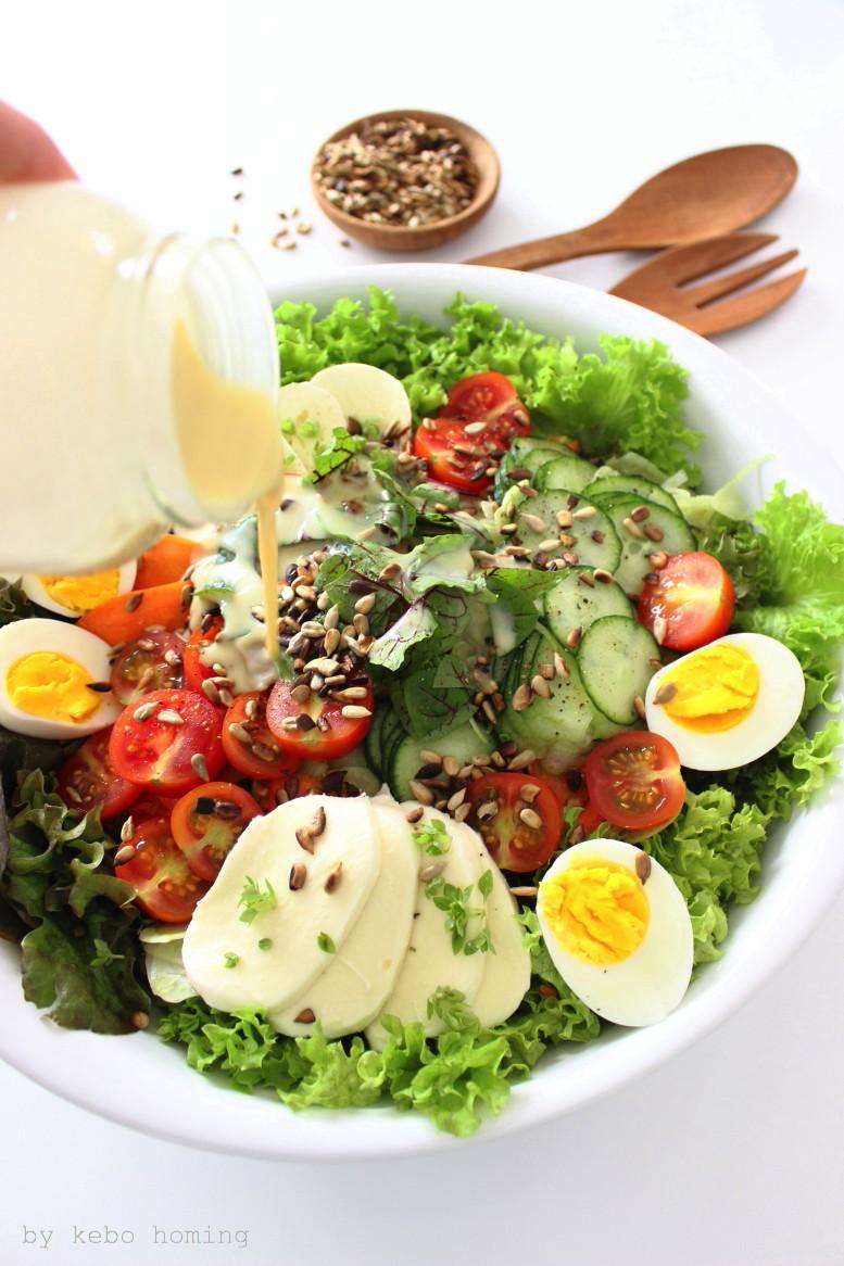 Super Bowl, Nutri Bowl, Healthy Bowl, Salad Bowl mit lecker Salatdressing, Rezept auf dem Südtiroler Food- und Lifestyleblog kebo homing