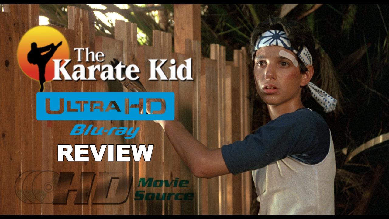 The Karate Kid (1984) 4K Ultra HD Blu-ray Blu-ray Review