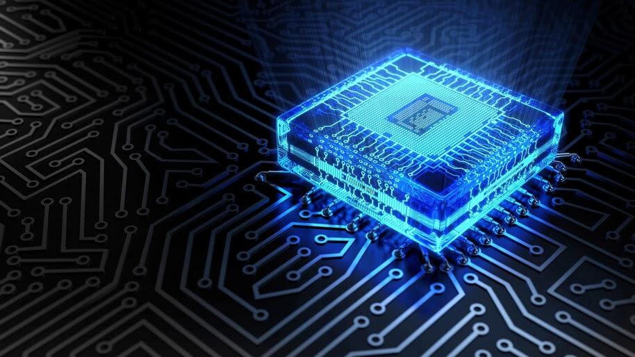 Chipset, Circuit, Digital Art, 4K, #4.2059