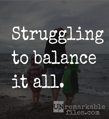 No matter how hard or how smart I work, there's no way to work long enough to get it all done. How am I supposed to find a balance?  {posted @ Unremarkable Files}