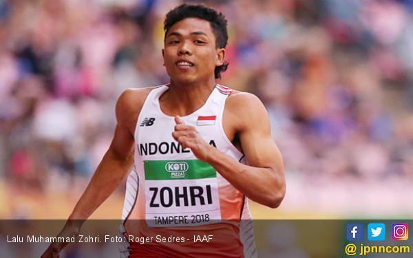 Lihatlah Bagaimana Lalu Muhammad Zohri Menjadi Juara Dunia