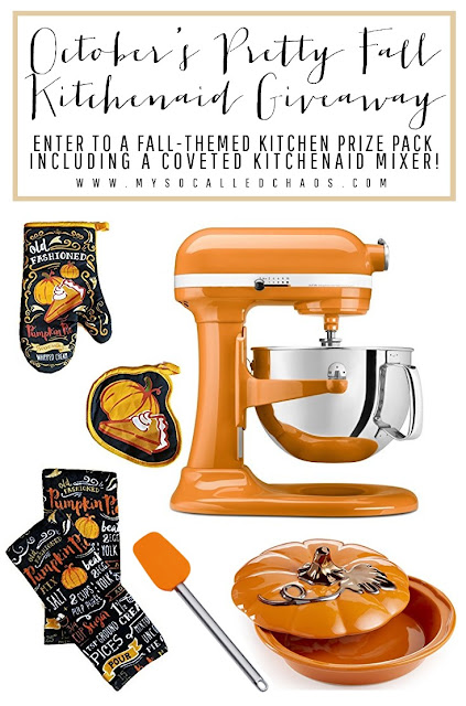 Fall Big KitchenAid Prize Pack Giveaway