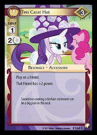 My Little Pony Ten Carat Hat Equestrian Odysseys CCG Card