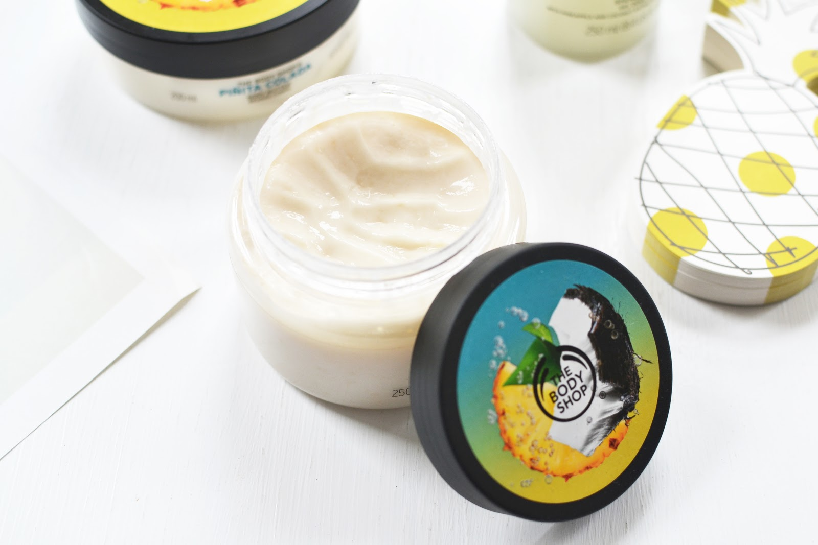 Pinita Colada Collection from The Body Shop