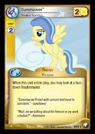 My Little Pony Sunshower, Storm Spotter Equestrian Odysseys CCG Card