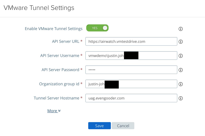 Even Gooder: UAG 3 4 Cascade Mode Deployment For VMware Tunnel