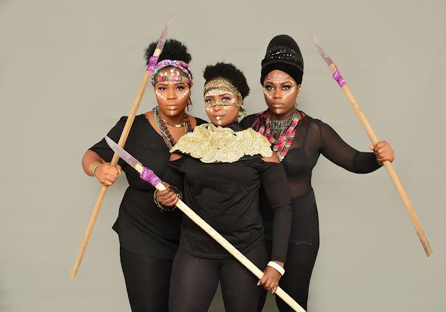 Golden Curvy Models applauds Black Panther