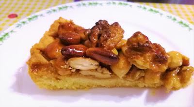 ricetta crostata frutta secca