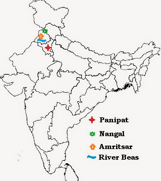 OMTEX CLASSES: NORTH INDIAN PLAINS - WESTERN (PUNJAB AND ...