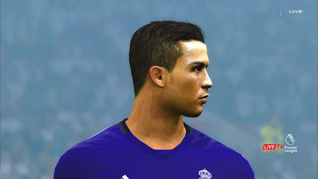 Cristiano Ronaldo Face PES 2017