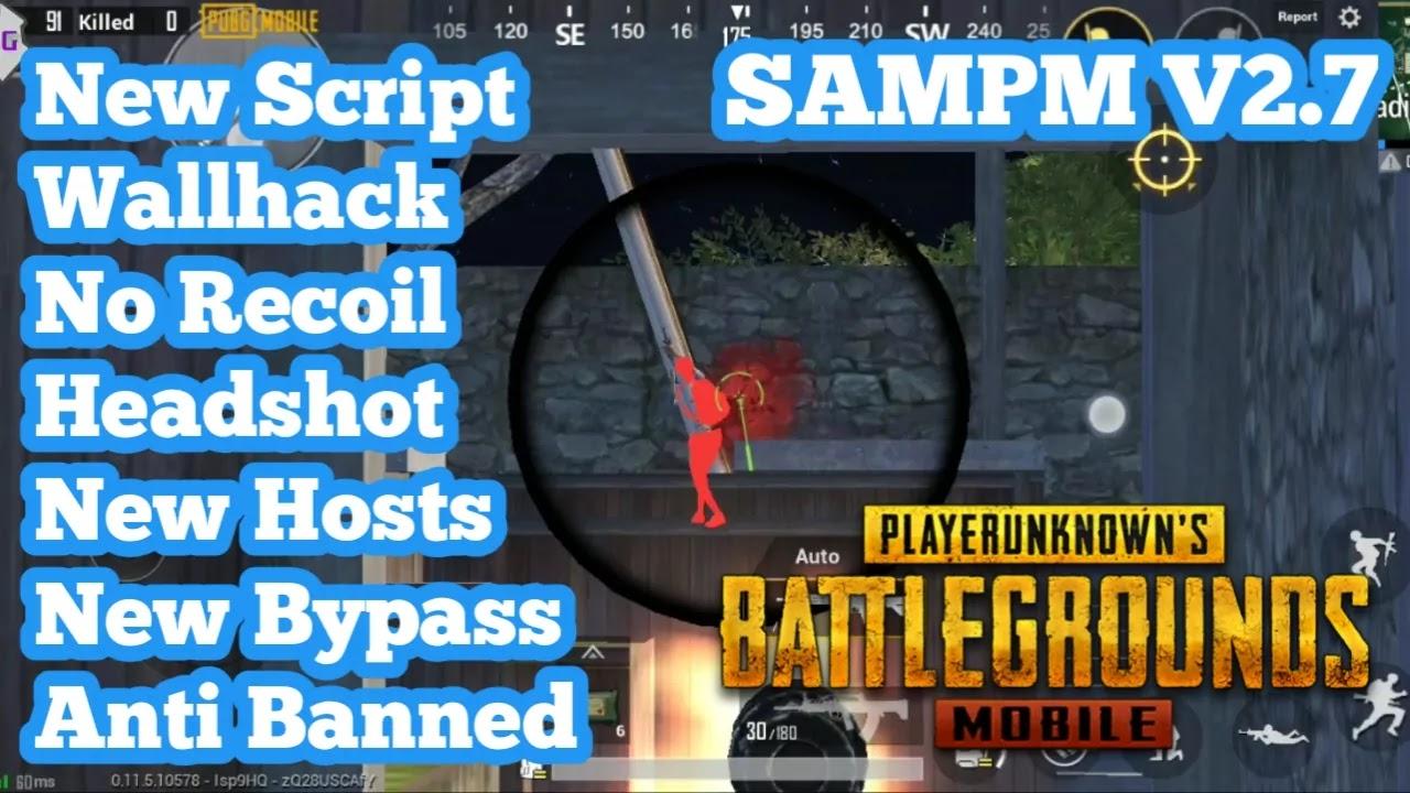 SAMPM V2.7 Script Cheat PUBG Mobile 0.11.5