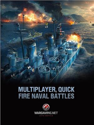 Dunia kapal perang Blitz kini telah dimulai dengan permainan MMO ponsel pada mode free to World of Warship Blitz v0.8.0 APK for Android  New UPDATE 2017
