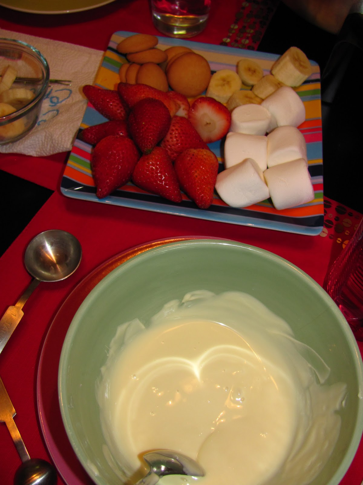 For The Love Of Food The Melting Pot Bananas Foster Fondue