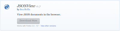 Mozilla Firefox Addons JSonView