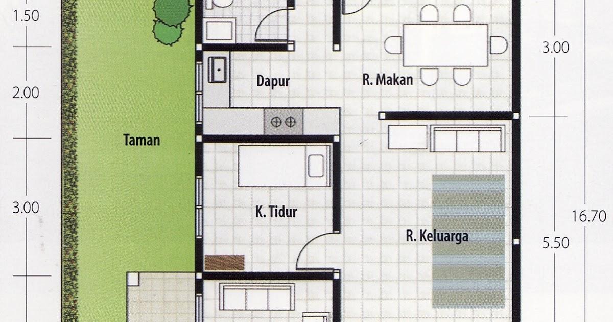 Denah Rumah Minimalis 3 Kamar Tidur Tanpa Garasi newest denah rumah 1 lantai 3 kamar tidur dan garasi terupdate