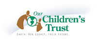 Our Children's Trust Logo (Credit: gasfieldfreebyronshire.org) Click to Enlarge.