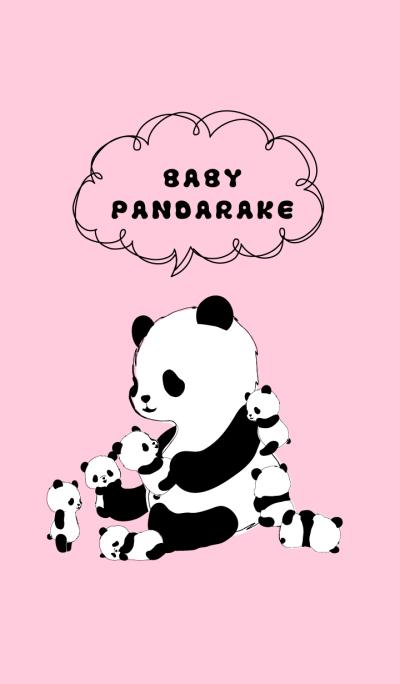 BABY PANDARAKE. (Pink)