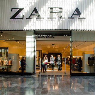 Zara clothes shop