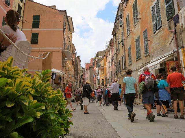 Via Roma em Vernazza