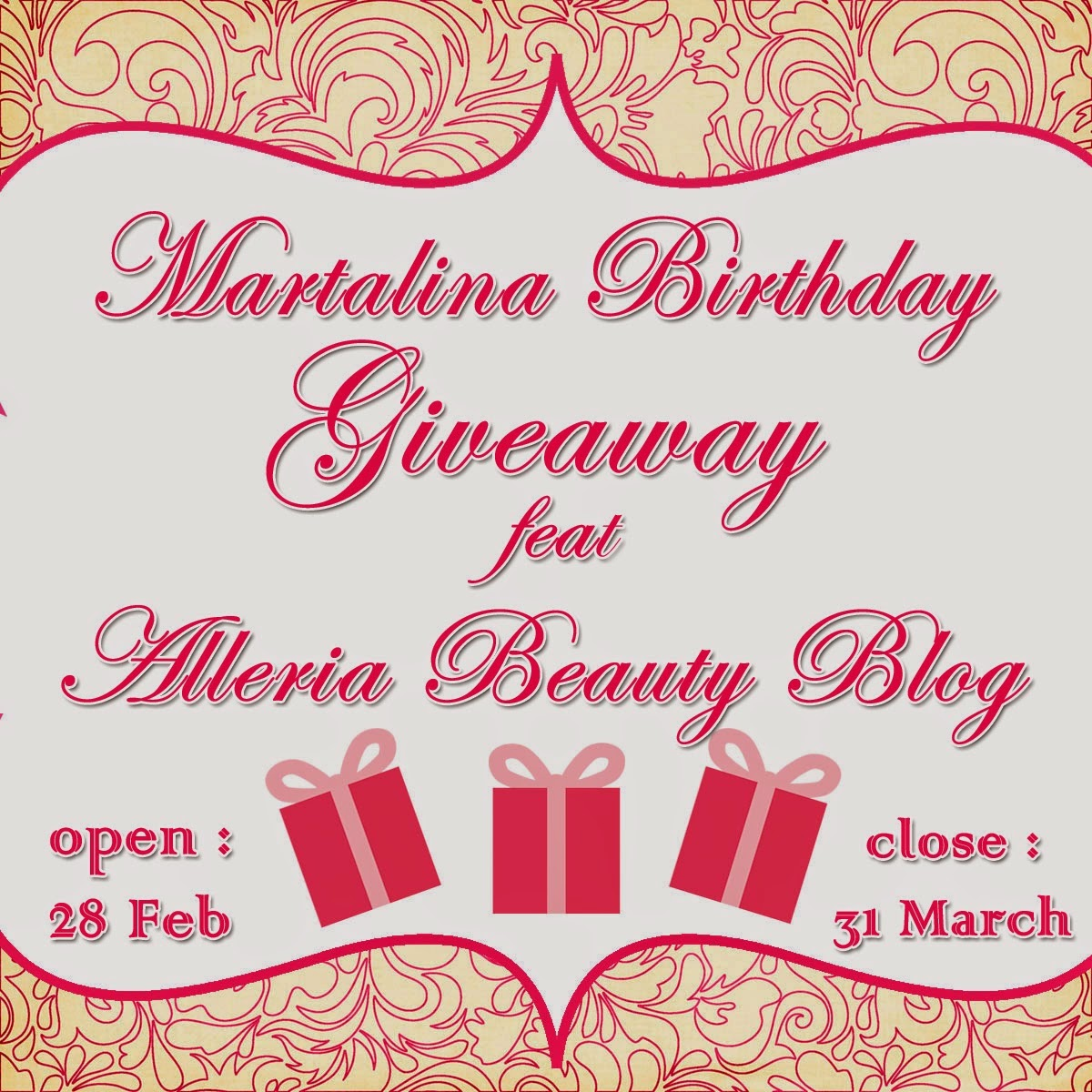 Martalina Birthday Giveaway feat. Alleria Beauty Blog