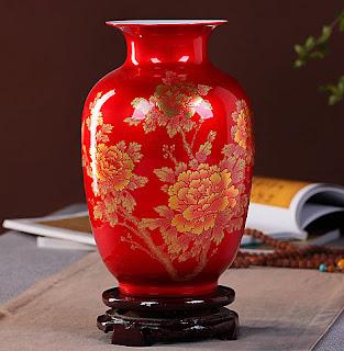 Chinese Style Vase Porcelain new