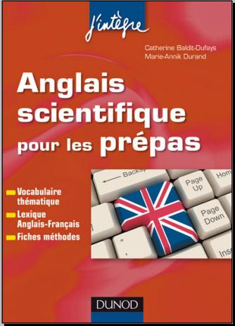 livre : Anglais scientifique pour les prépas - Vocabulaire, lexique, fiches méthodes PDF