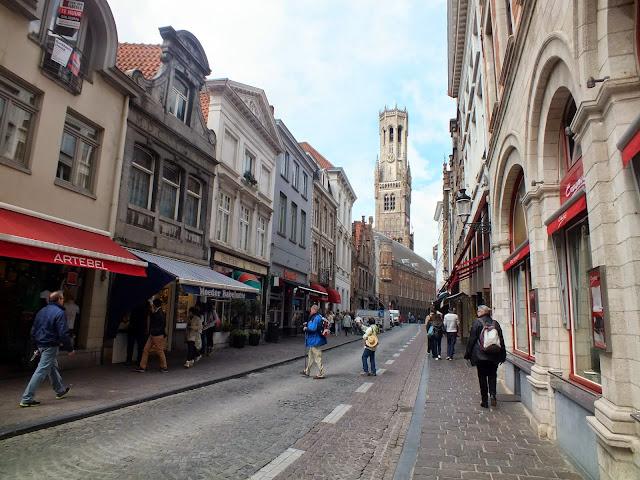 calles comerciales que ver en Brujas
