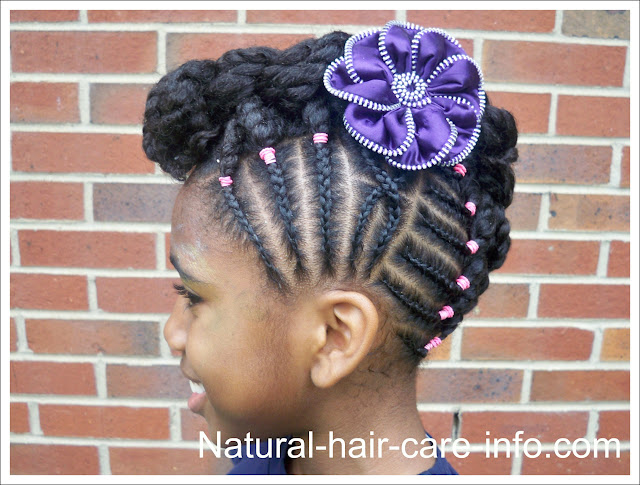 Child Hairstyles Boy Braids For Short Hair Girl Weddings