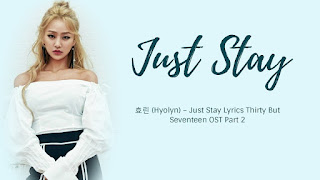 Lirik Lagu Hyolyn STAY