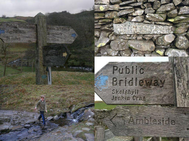 Lake District signposts