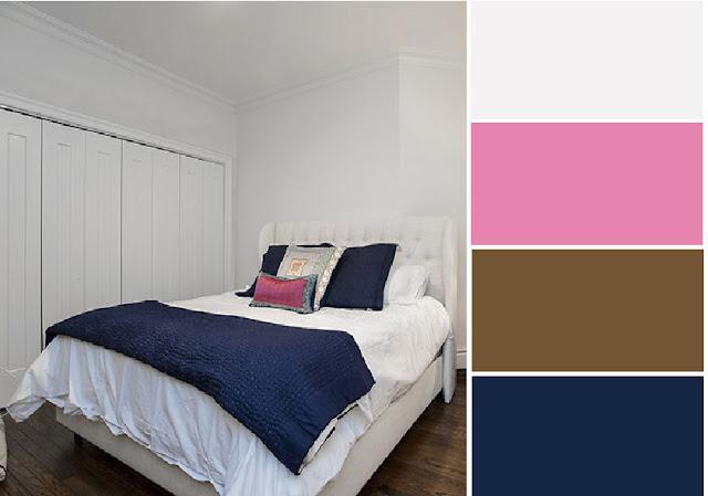 40 Combinaciones de Paletas de Colores para Dormitorios
