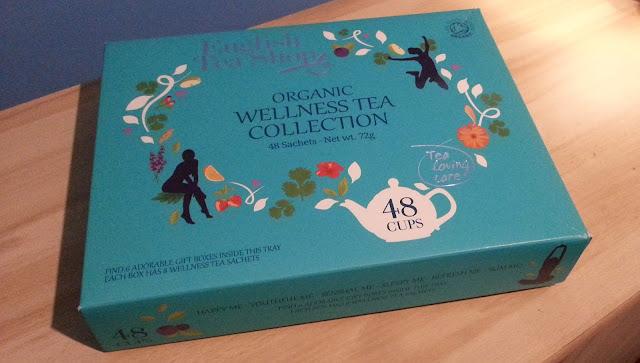 """Kolekcja herbat organicznych od """"English Tea Shop""""  / recenzja"""