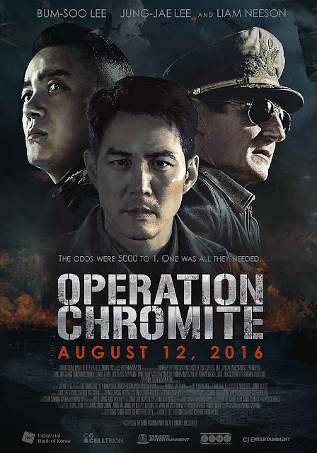 Sinopsis Film Operation Chromite (2016) - Liam Neeson, Sean Dulake, Jung-jae Lee