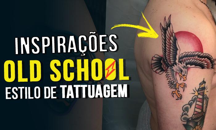 inspirações tatuagem masculina old school colorida