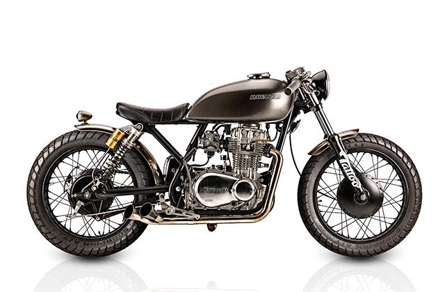 Kawasaki KZ400 1976 By Tattoo Projects