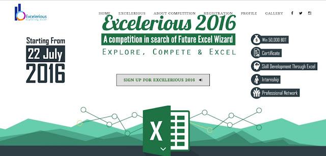 Excelerious 2016 : A competition in search of next excel wizard