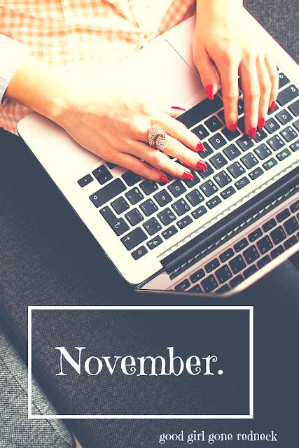 NaBloPoMo, national blog posting month, blogging, writing, community, write with me, share, talk about yourself