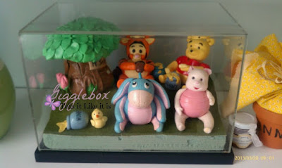 how to preserve the edible fondant characters from cakes, preserving edible cake characters,